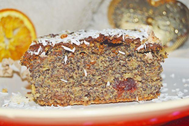 Makowiec (ciasto makowe) bez mąki