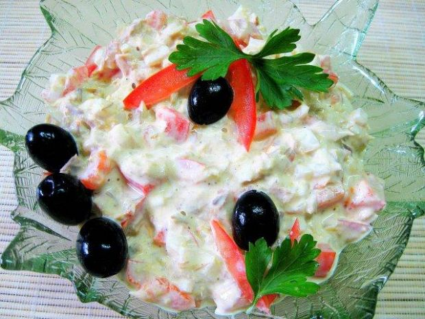 Makrelowa sałatka śniadaniowa