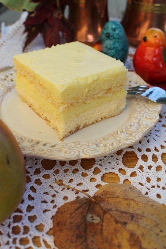 """""""Mango puszek"""" czyli biszkopt z musem z mango"""