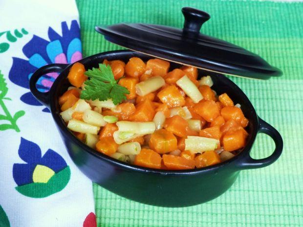 Marchewka z fasolką szparagową