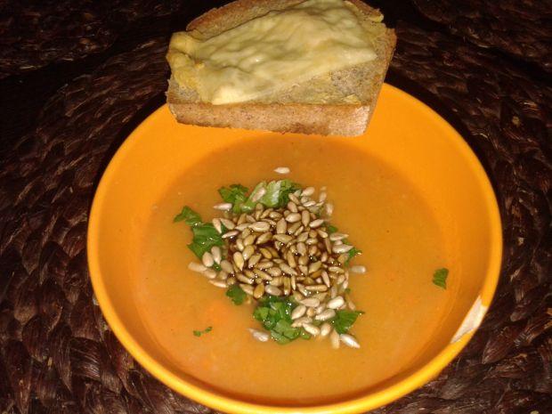 Marchewkowa zupa krem