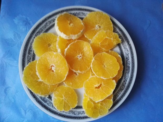 Marchewkowo - pomarańczowa fantazja