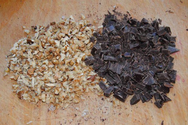 Marchwiowo- czekoladowy  keks