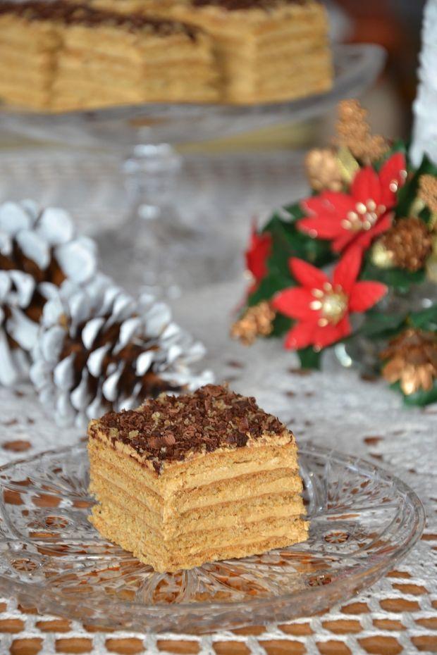Marlenka - miodowe ciasto
