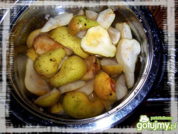 Marmolada aroniowo-gruszkowa