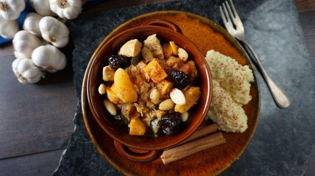 Marokański tagine z kurczakiem