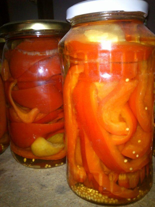 Marynowana papryka z miodem i cynamonem