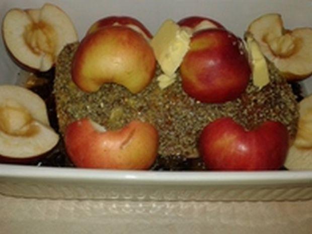 Marynowany schab jabłkowo - żurawinowy