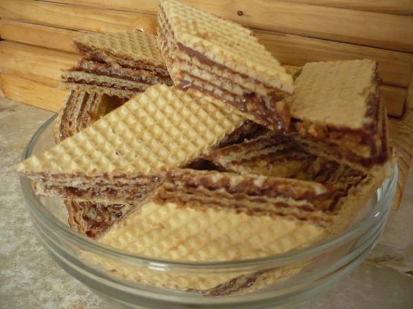 Masa czekoladowa do wafli