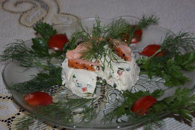 Mascarpone z łososiem