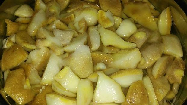 Maślaki w sosie śmetanowym z muszlami makaronowymi