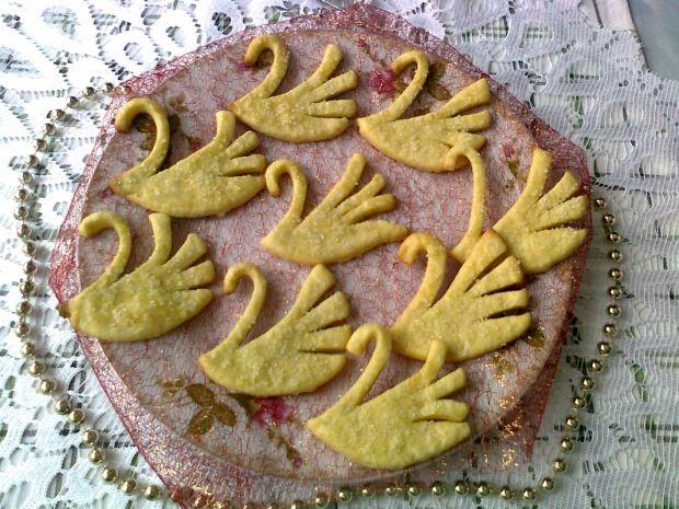 Maślane ciasteczka łabędzie