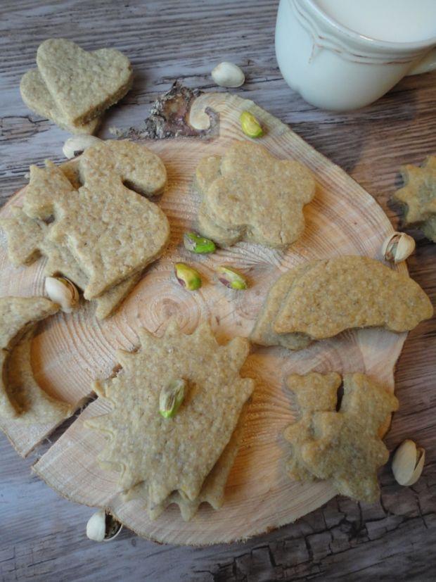 Maślane ciasteczka z inką