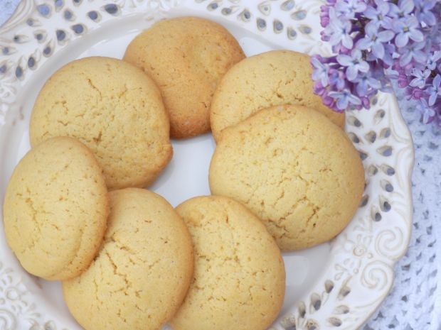 Maślane, ucierane ciasteczka