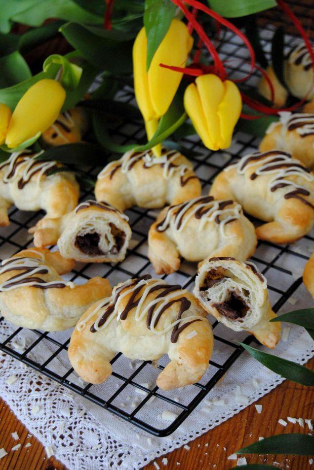 Maślano- czekoladowe rogaliki