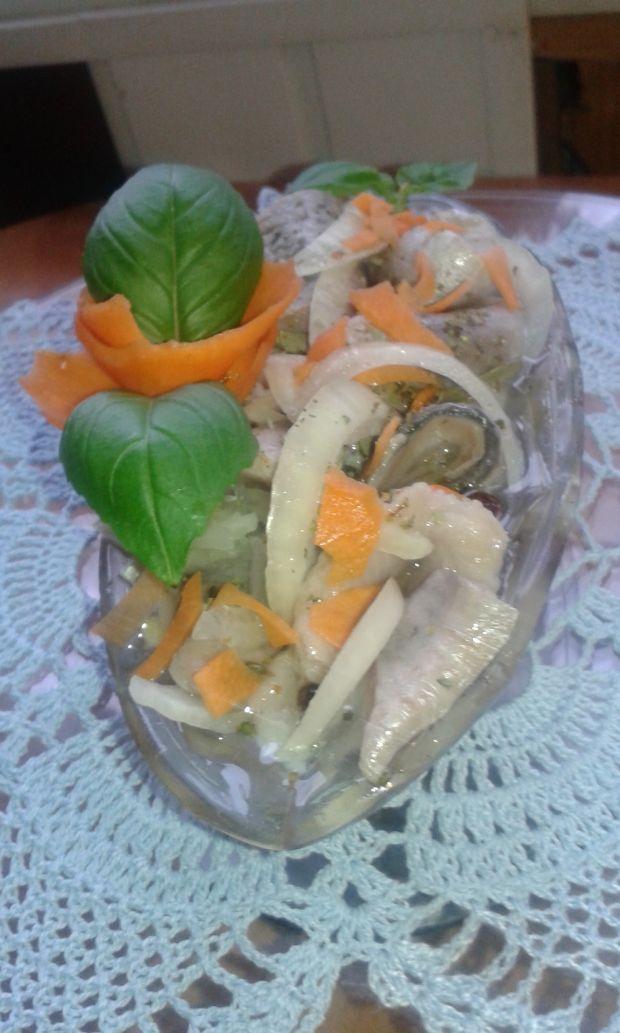 Matyjasy w ziołach.