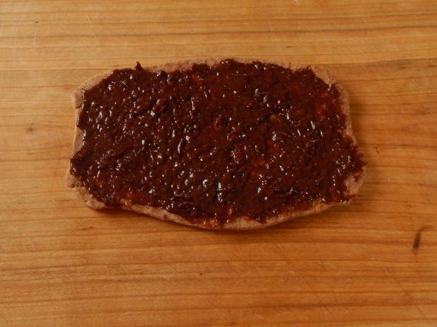 Mazurek czekoladowo-śliwkowy
