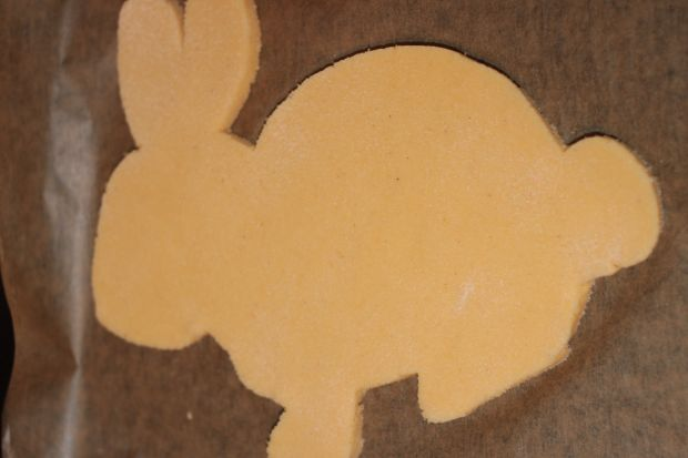 Mazurek Wielkanocny zając