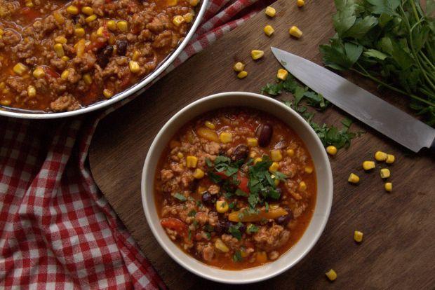 Meksykańskie chilli con carne- potrawka mięsna