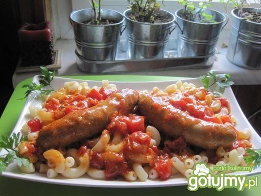 meksykańskie kiełbaski w pomidorach