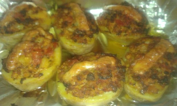 Mielone w ziemniakach