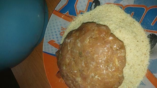 Mielone z serem i szynką