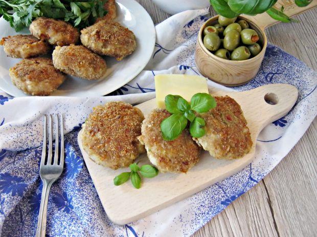 Mielone z serem i zielonymi oliwkami