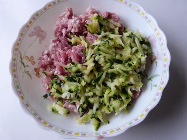 Mielone z warzywami i fasolą