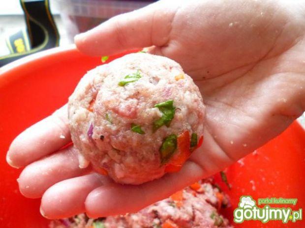 Mięsne babeczki z kremem ziemniaczanym