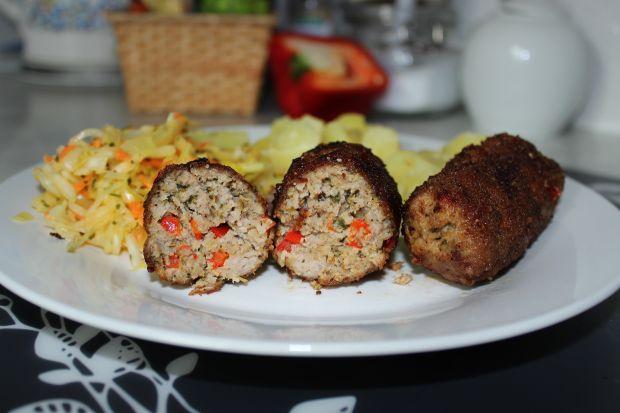 Mięsne paluchy z papryką