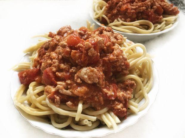 Mięsne spaghetti