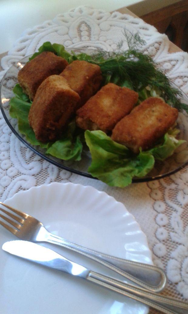 Mięsno - grzybowe krokiety