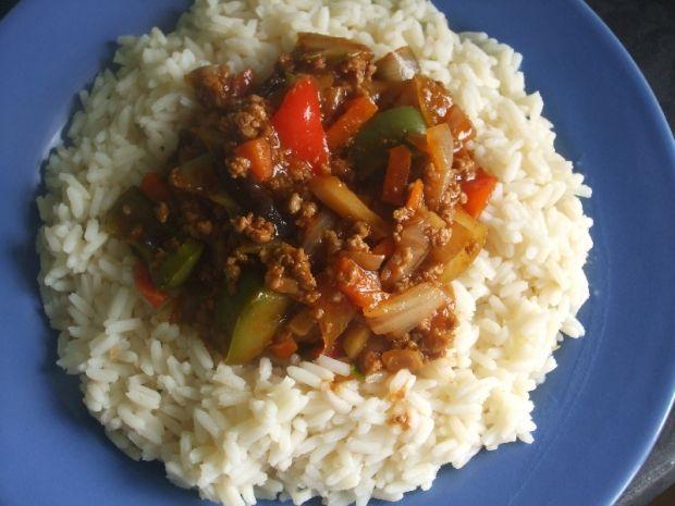 Mięso mielone po chińsku