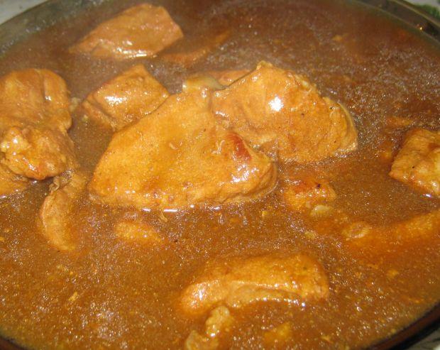 Mięso w sosie