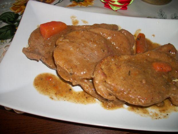 Mięso w sosie wg Zub3ra