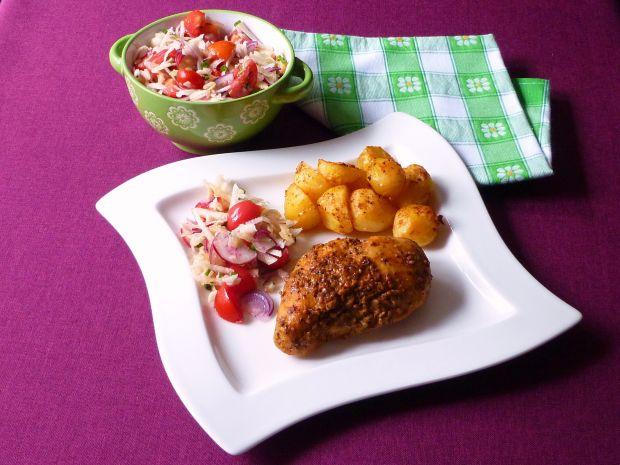 Mięso z kurczaka w egzotycznej marynacie