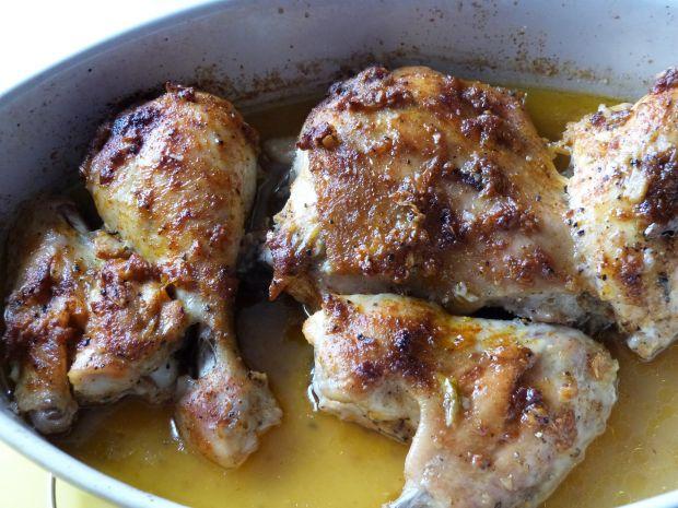 Mięso z kurczaka w piwie jabłkowym