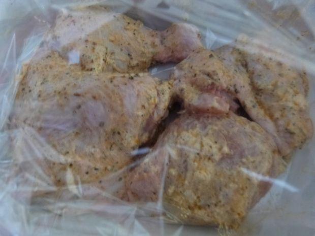 Mięso z kurczaka z bałkańską przyprawą