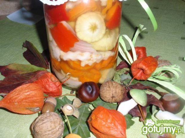 Mieszanka warzyw do słoika