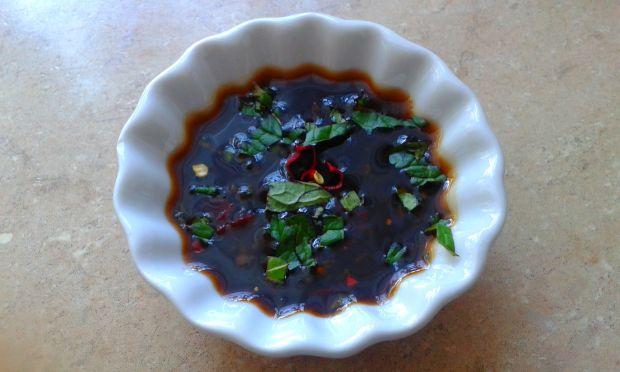 Miętowy sos do pierożków azjatyckich