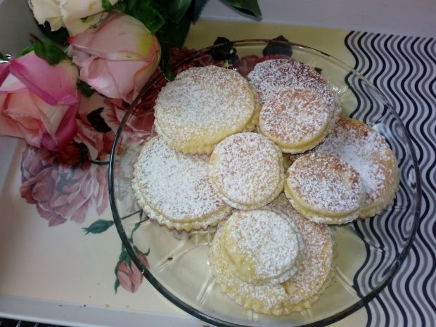 Migdałowe ciastka z patelni