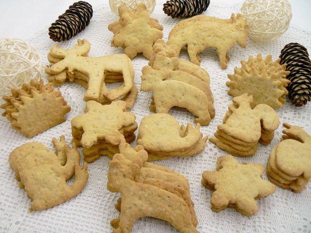Mikołajkowe ciasteczka laskowe