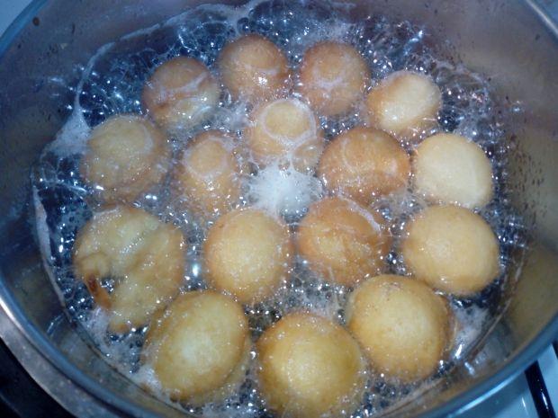 Mini pączki cytrynowe