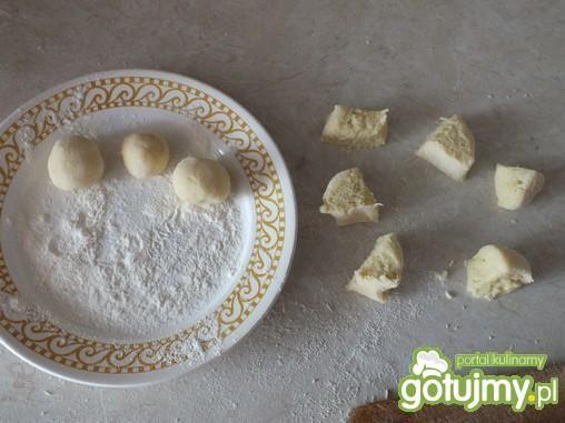 Mini pyzulki z mlekiem