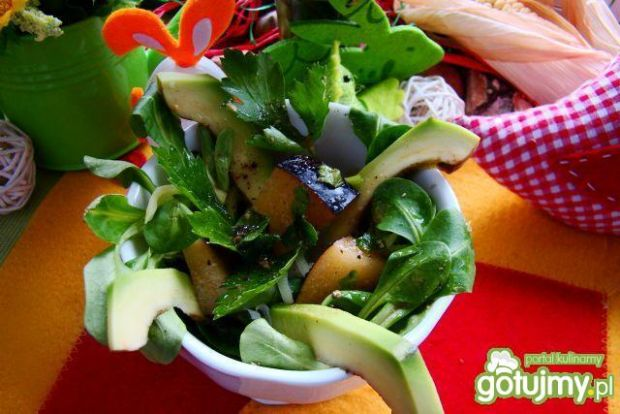 Mini sałatka z awokado