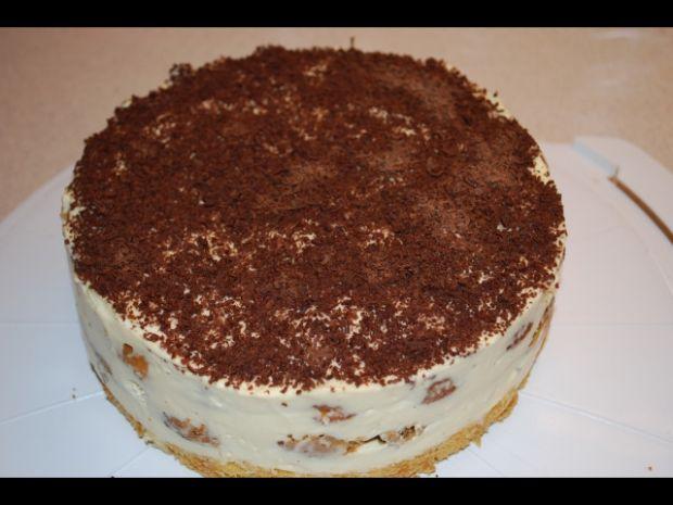 Mini tort tiramisu