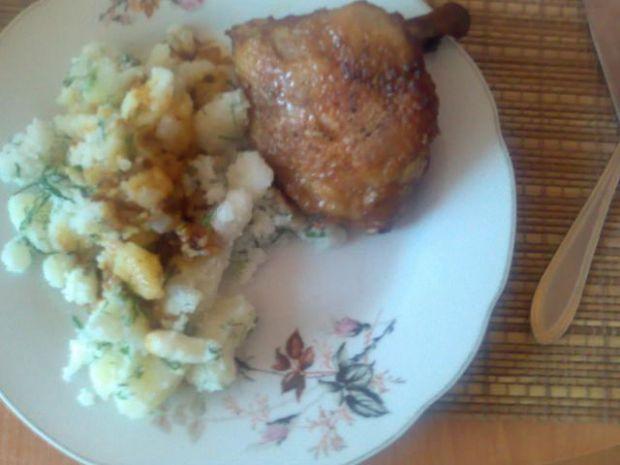 Miodowe kurczaczki