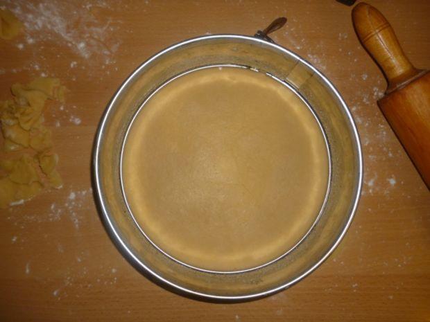 Miodownik z kremem orzechowym