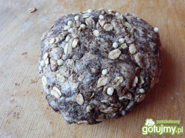 Miodowo-kawowe ciasteczka z musli