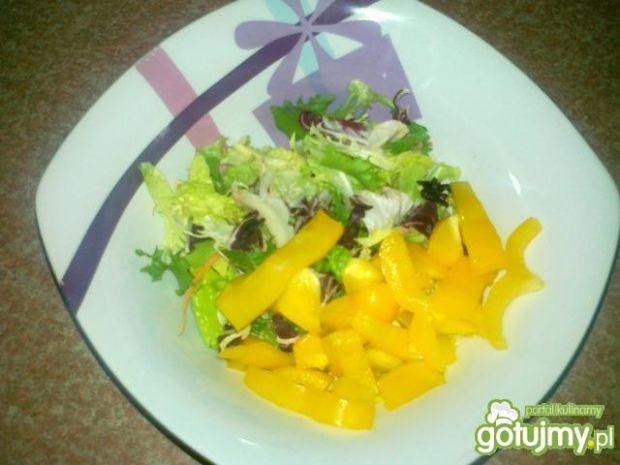 Mix sałat z mandarynkami